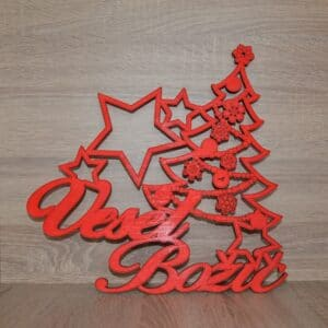 Veliki napis Vesel Božič